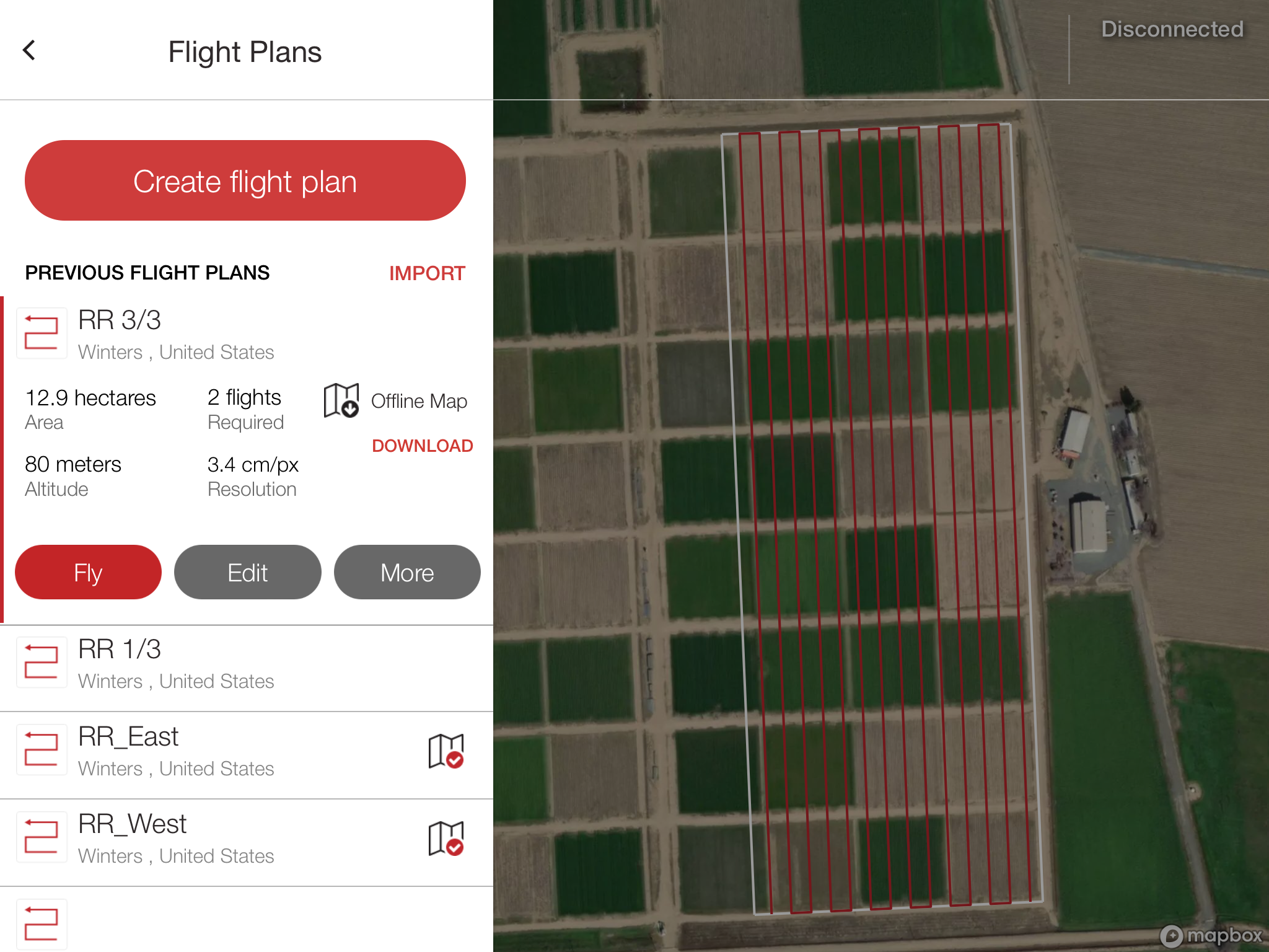Instructions for using the Precision Flight planning software — GFC