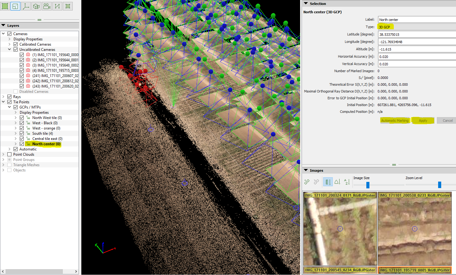 Post Processing with Pix4d and Ground Control Points — GFC Guides 1